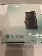 Canon IXUS 130 / PowerShot Digital ELPH SD1400 IS 14.1MP Digital Camera - Black