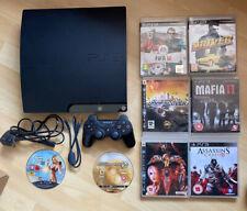 Console PS3 CECH 2003 A 120 Go Mega Bundle avec 8 jeux 1 manette et conduit