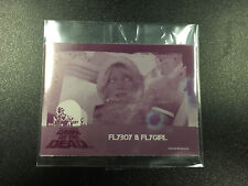 Very Rare Metal Manufacturing Plate From Fright Rags Dawn of The Dead Set
