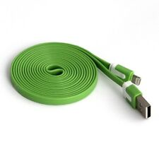 Long 3M USB Cable for iPhone 6 Plus 6S 5S 5C 5 Data Sync Charger Green Lead