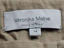 VERONIKA MAINE SmartNude48%Cotton39%LinenMixShort Sz14