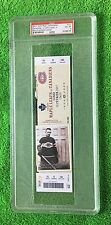 PSA 8 GEORGES VEZINA HOCKEY TICKET (Full Unused) Canadiens 100th Anniversary