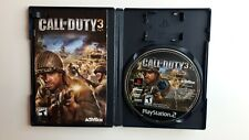 Call of Duty 3 - Playstation 2 PS2 Game - Complete CIB
