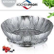 Küchenprofi - Dämpfeinsatz, klappbar - Ø 24 cm