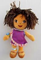 "ty 2006 Dora The Explorer 9"" Beanie DORA Doll Soft Plush Toy"