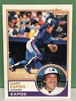 1983 Topps Gary Carter baseball card Montreal Expos NrMt  #370 MLB HOF NY Mets C