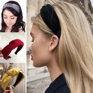 CERCHIETTO per CAPELLI da donna imbottito bombato fascia archetto maxi turbante