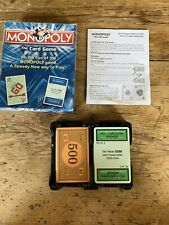 Monopoly The Card Game Brand New 2007