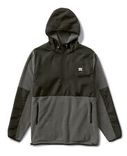Fourstar Skateboards Clothing Polar Men's Fleece Jacket Black/Grey L CLEARANCE