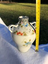 New ListingFine 6� Japanese Double Handled Floral Vase