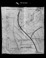 OKH - Westwall Pläne von schweren Artilleriebatterien 1938 - 1942