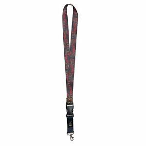 Sullen Men's Andres Blesa Lanyard Black Multi Accessories Key Chain ID Tag Sk...