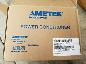 AMETEK POWERVAR MODEL: ABCG065-11 66008-01GR POWER CONDITION
