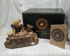 Boyds Bears, Justina & M. Harrison Sweetie Pie, figurine baking kitchen Nib!