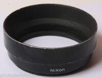 "Nikon 86mm Threaded Hood Lens Shade - 1 1/2 Deep x 4"" Diameter - VINTAGE H62"