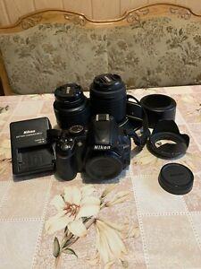 Nikon D3100 Spiegelreflexkamera + 2 Objektive Gebraucht