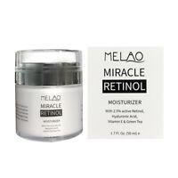 PURE RETINOL VITAMIN A 2.5% Anti Aging Wrinkle Acne Face Facial Serum / Cream ZE