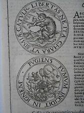 AFFE Ape Rauch Feuer Affenbaby Liebe Belgien Johannes Wolf Lauingen um 1600