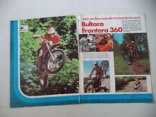 - PROVA MOTOCICLISMO 1975 MOTO BULTACO FRONTERA 360