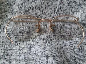 Vintage 1/10 12k Gold Filled Wire Eyeglasses AO American Optical