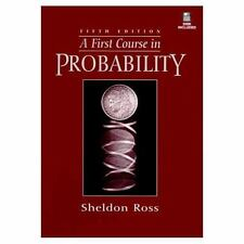 A First Course in Probability - Acceptable - Ross, Sheldon M. - Hardcover