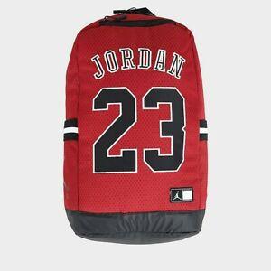 Air Jordan 23 -Jersey mesh backpack- Red/Black/White-New