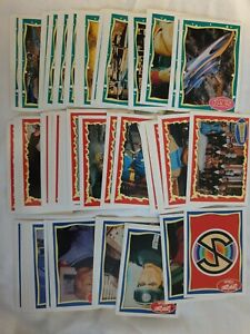 Vintage Topps Trading Card Set Gerry Anderson Thunderbirds, Stingray, Captain...