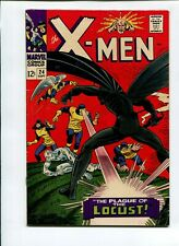 X-Men 24 VG/FN 5.0 * 1 Book Lot * Origin & 1st Locust - Dr. August Hopper!