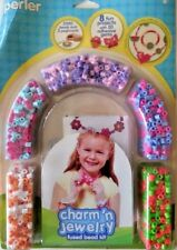 Perler Fused Beads Charm'n Jewelry Bead Kit 2033pc Kids Crafts Gifts Party Bc