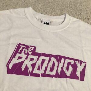 Official The Prodigy Purple Logo T Shirt Liam Howlett, Keith Flint & Maxim
