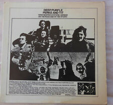 DEEP PURPLE          PERKS AND TIT   LP  1974