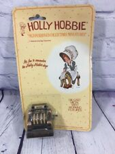Vtg Holly Hobbie Miniatures Cash Register Die-Cast Metal Working Features Durham