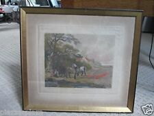 "Dean Wolstenholme ""Spring"" engraving after John Dearman painting framed!"