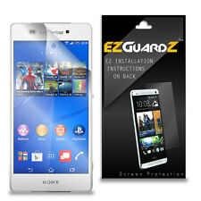 2X EZguardz LCD Screen Protector Cover HD 2X For Sony Xperia Z3v (Ultra Clear)