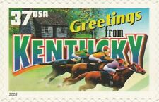US 3712 Greetings from Kentucky 37c single MNH 2002