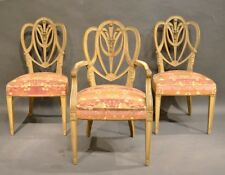 Mid-20Th Century. A Set of 12 Dining Chairs. By Maison Jansen. George III Style