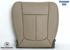 2011 Ford F250 Lariat -Passenger Side Bottom PERFORATED Leather Seat Cover TAN