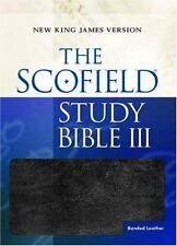 The Scofield Study Bible Ill burgundy indexed
