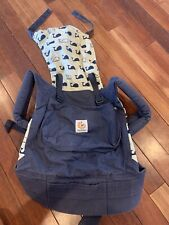 ErgoBaby Marines Whales Blue Infant Carrier