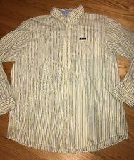 CHAPS by Ralph Lauren Work Dress Casual Button Up Authentic Shirt Mens Sz XL #