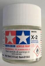 Tamiya 81502 Acrylic Mini X-2 White 10ml NEW