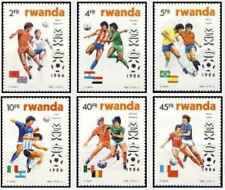 Timbres Sports Football Rwanda 1211/6 ** lot 25795