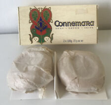 Vintage Connemara MADE IN IRELAND Soap x2 Bars 100g/3 1/2OZ Brand New In Box