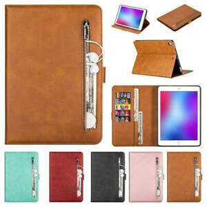 "Leather Wallet Pocket Case Cover For iPad 234 5th 6th Gen Air12 9.7"" 2018 Mini"