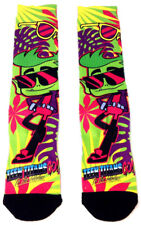 DC COMICS TEEN TITANS GO TO THE MOVIES BEAST BOY SUBLIMATED MENS CREW SOCKS TUBE