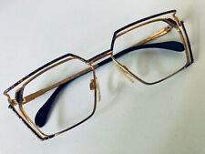 Vintage Cazal Mod.250 Col.403 Black/Gold Eyeglasses/Sunglasses (frame only)