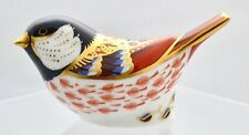 ROYAL CROWN DERBY *COAL TIT* BIRD PAPERWEIGHT '1ST' QUALITY