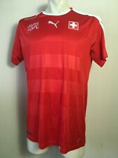 SWITZERLAND FOOTBALL SHIRT 2016 2018 HOME JERSEY ORIGINAL PUMA SOCCER