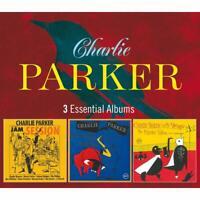 CHARLIE PARKER - 3 ESSENTIAL ALBUMS  3 CD NEW