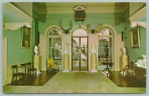 Charlottesville Virginia~Monticello Home Of Thomas Jefferson~Vintage Postcard